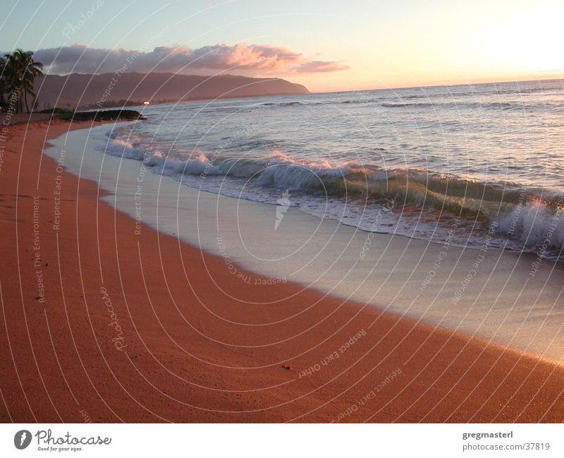 Strand Wasser Himmel Ferien & Urlaub & Reisen Erholung Sand