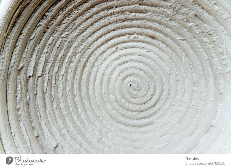 Das Gärkörbchen der Unendlichkeit brotbacken backzubehör mehl traditionelle herstellung Brotkorb Sauerteig küchenutensilien Bäckerei brotform Spirale rund
