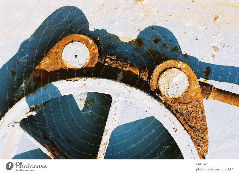Tangente Metall Technik & Technologie Industriefotografie Teile u. Stücke Rost Eisen Rust Elektrisches Gerät