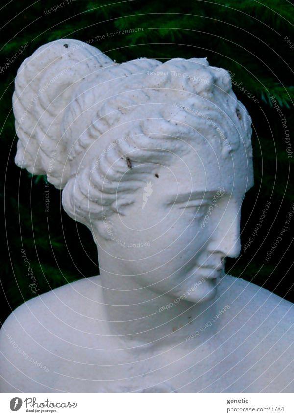 Statue 2 Dinge Gartenfiguren