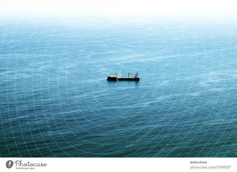 weit weg   und nur noch der ozean fantastisch Atlantik Ozean Südafrika Sehnsucht träumen endlos weite Außenaufnahme Menschenleer Himmel Horizont