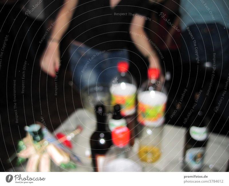 Party, Party, Party! Die beste Feier. Partyrausch - wenn sich alles dreht. Foto: Alexander Hauk feier unschärfe unscharf getränke geselligkeit mensch tanzen