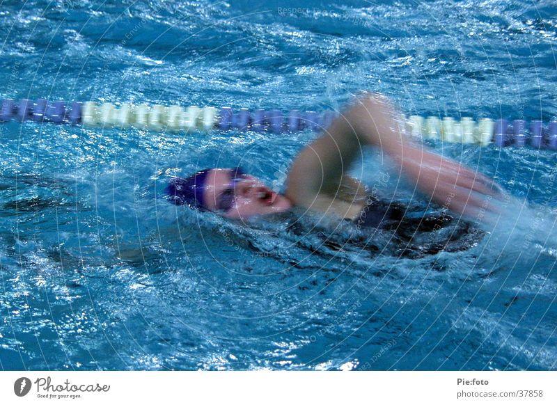 swimming Wasser blau Sport Bewegung Aktion Schwimmsportler
