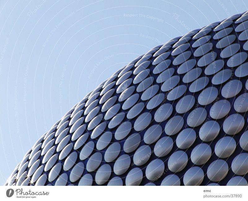 Birmingham, UK Dach Architektur Selfridge Großbritannien Roof Plates Tellerdach Himmel