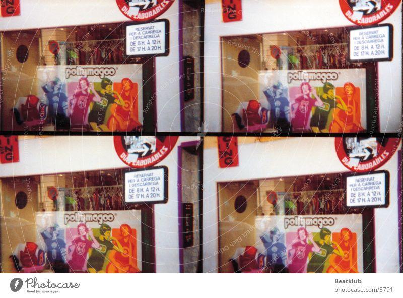 PollyMagoo Ibiza Schaufenster Lomografie Mode