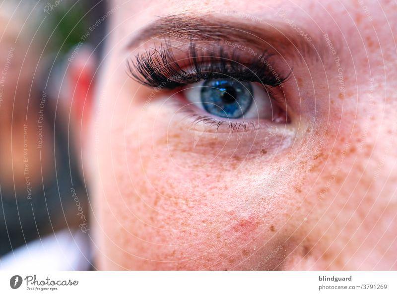 Es heißt die Augen sind das Fenster zur Seele und doch lässt sich der Betrachter so leicht täuschen und es bleibt noch so vieles verborgen. schön wunderschön