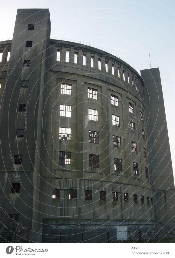 gasometer Architektur Turm Dachboden Arena