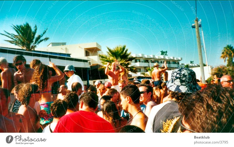 Bora Bora Strand Party Europa Ibiza