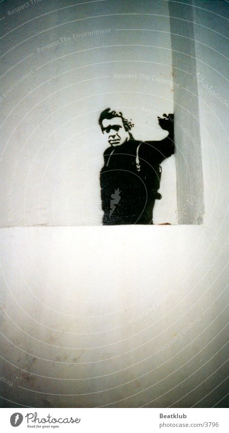 Steve McQueen Graffiti Spray Ibiza Fototechnik