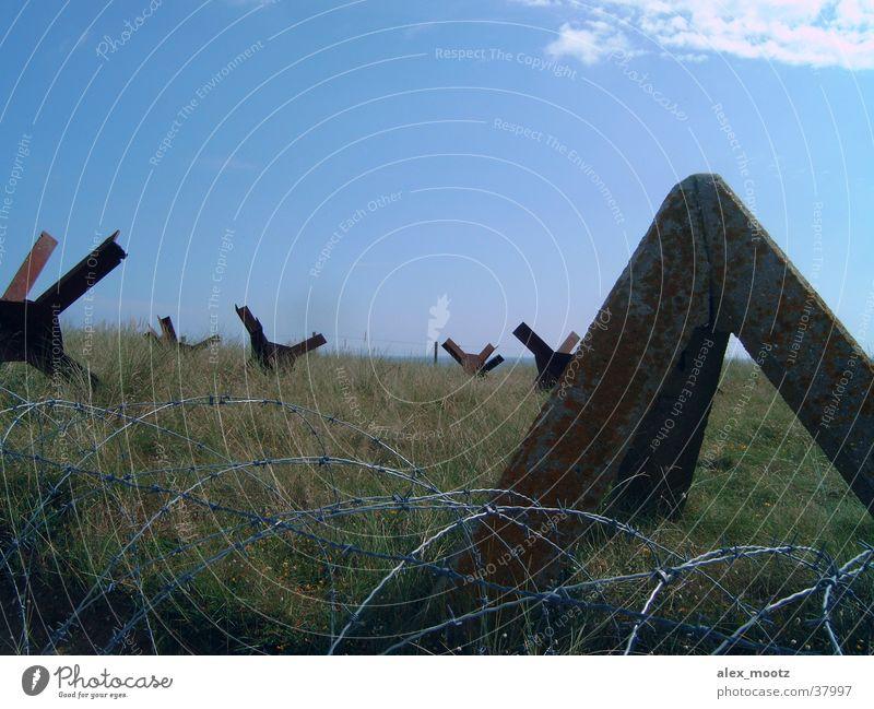 panzersperre in der normandie Frankreich historisch Normandie