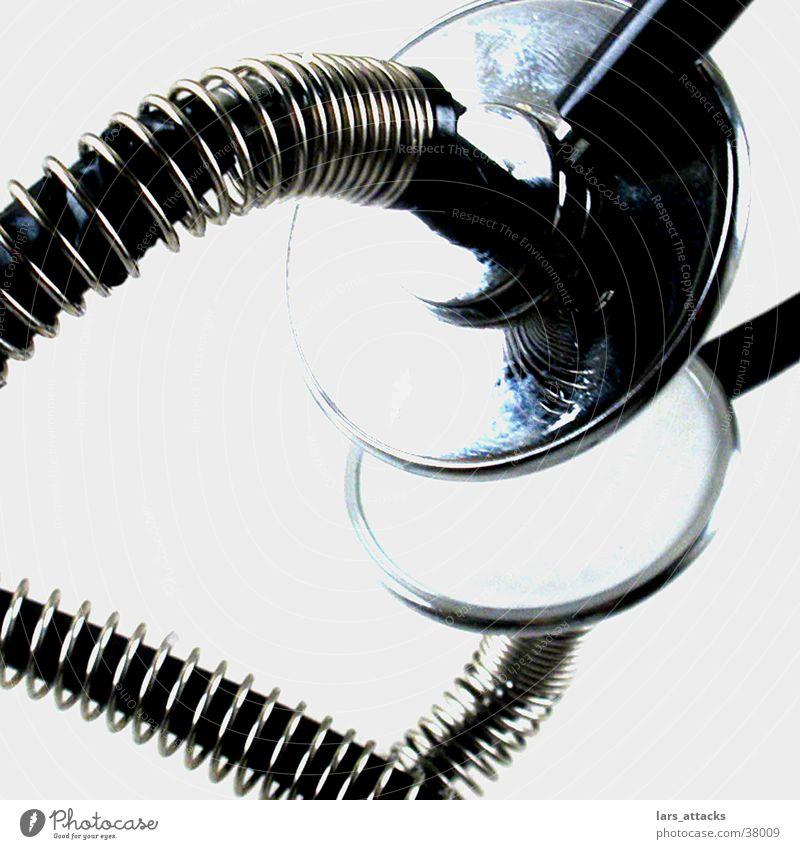 Stethoskopkunst Metall Feder hören obskur