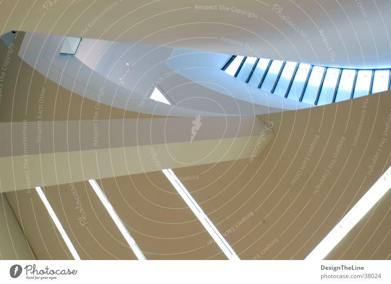 Wand_abstrackt Mauer weiß Architektur Pinakothek Säule
