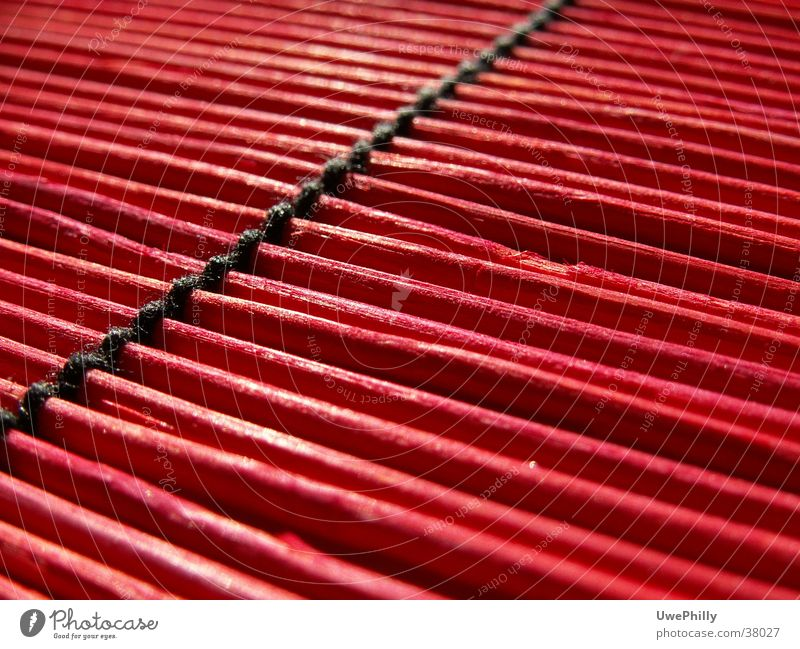 Red Bamboo rot schwarz Freizeit & Hobby Bambusrohr