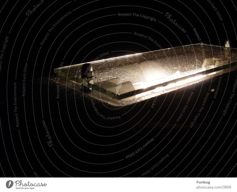Lichtglas Lampe dunkel Glas Dekoration & Verzierung Häusliches Leben Wohnzimmer Schraube Blech