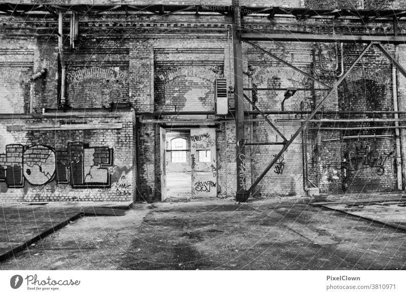 Lost Location verlassene Orte Architektur Verlassen alt Gebäude Ruine, Lost Location, Industrie Ruine, Schwerindustrie, Verfall