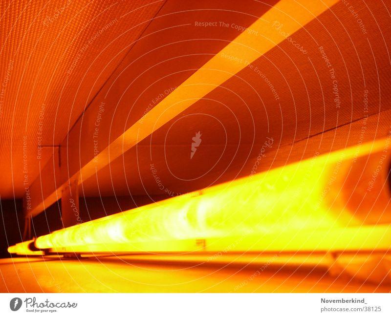 Light rot Lampe orange Innenarchitektur Foyer Neonlicht Fototechnik