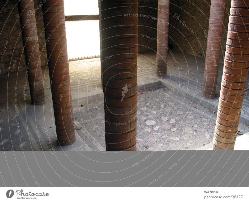 pompeji Freizeit & Hobby Italien Säule Becken Mosaik Ausgrabungen Compluvium