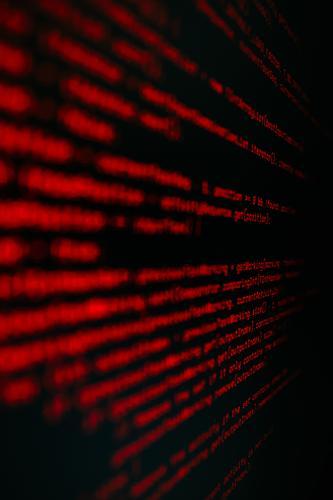 Hintergrund eines Codes in Rot über Schwarz geschrieben Information Java Computer Bildpunkt Brief Bezugspunkt Netz Symbol Monitor Entwicklung Anzeige