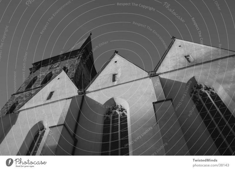 Until God falls Haus Götter Architektur Religion & Glaube Turm Gott Himmel