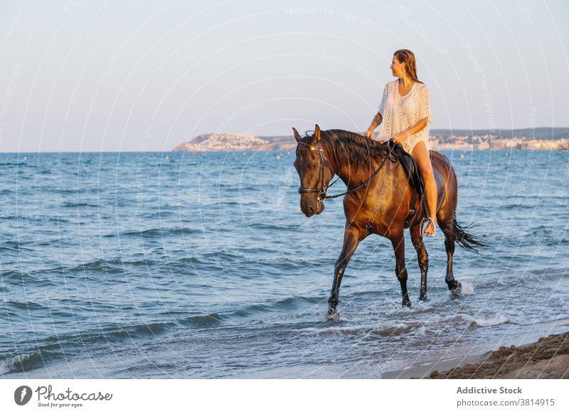 Auf den pferd nackt Nackt reiten