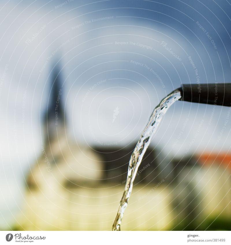 Köln UT | Ehrenfeld II | Dat Wasser vun Kölle Himmel Stadt Wasser ruhig Haus dunkel Gebäude glänzend Platz nass Kirche Politische Bewegungen Sauberkeit Bauwerk Skyline deutlich