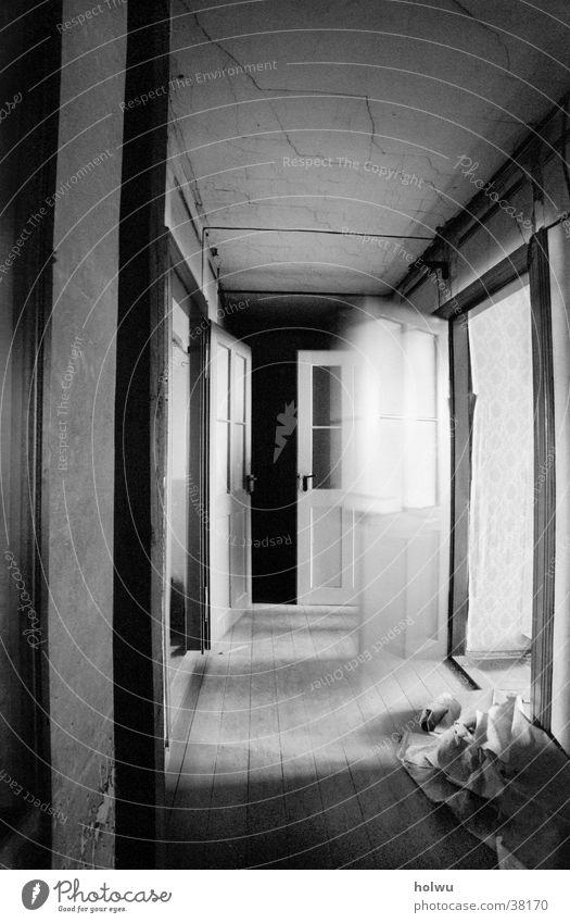 Verlassen b ruhig Einsamkeit Bewegung Traurigkeit Raum Architektur Tür leer Innenarchitektur