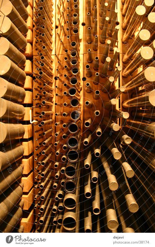 Orgelpfeifen Musikinstrument Konzert Orgelbauer Paul Ott