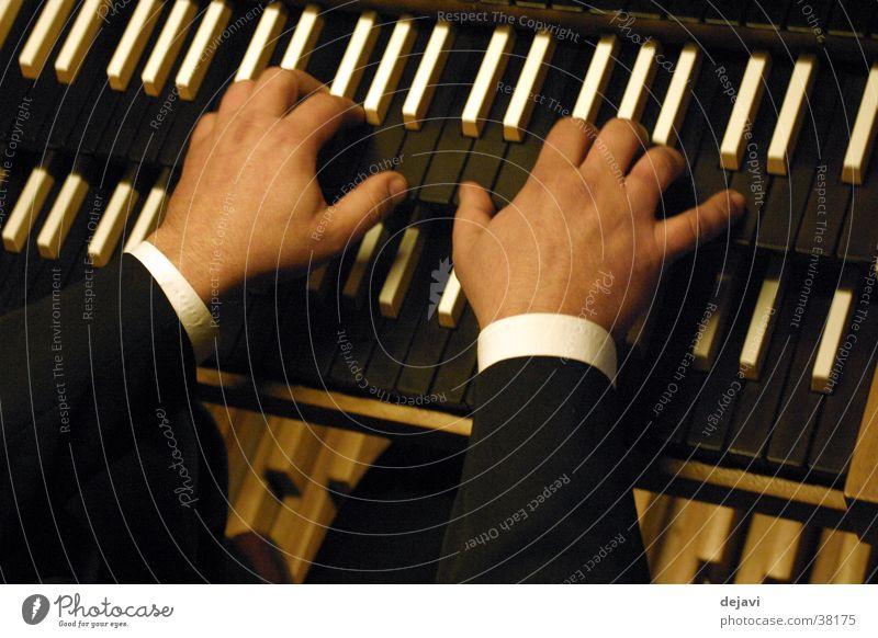 Orgel - Spieltisch Musik Konzert Musikinstrument Tasteninstrumente