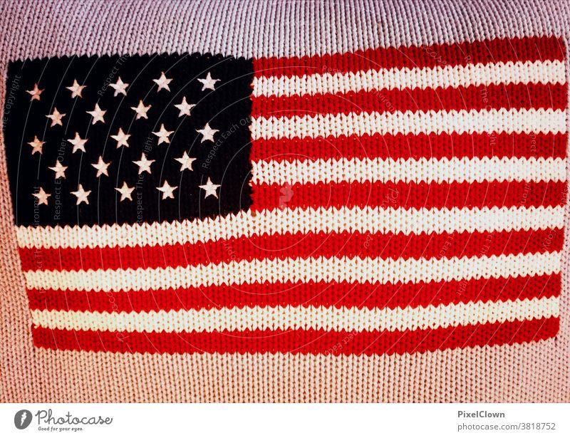 Amerika vor einer historischen Wahl USA Fahne Patriotismus Stars and Stripes Amerikaner Kissen, Wohnen, Präsidentschaftswahl
