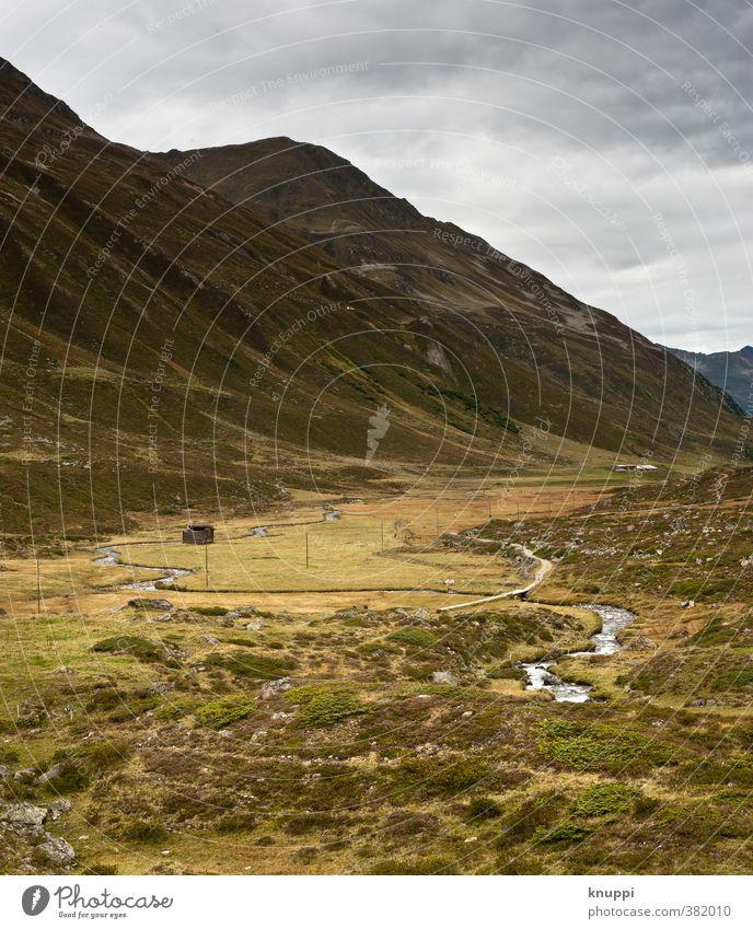 Einsamkeit Himmel Natur grün Wasser Sommer Landschaft Wolken Haus Umwelt gelb Berge u. Gebirge Herbst grau Regen Erde