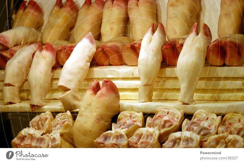 Attractive Piggy Legs Ernährung Fuß Ladengeschäft Schwein