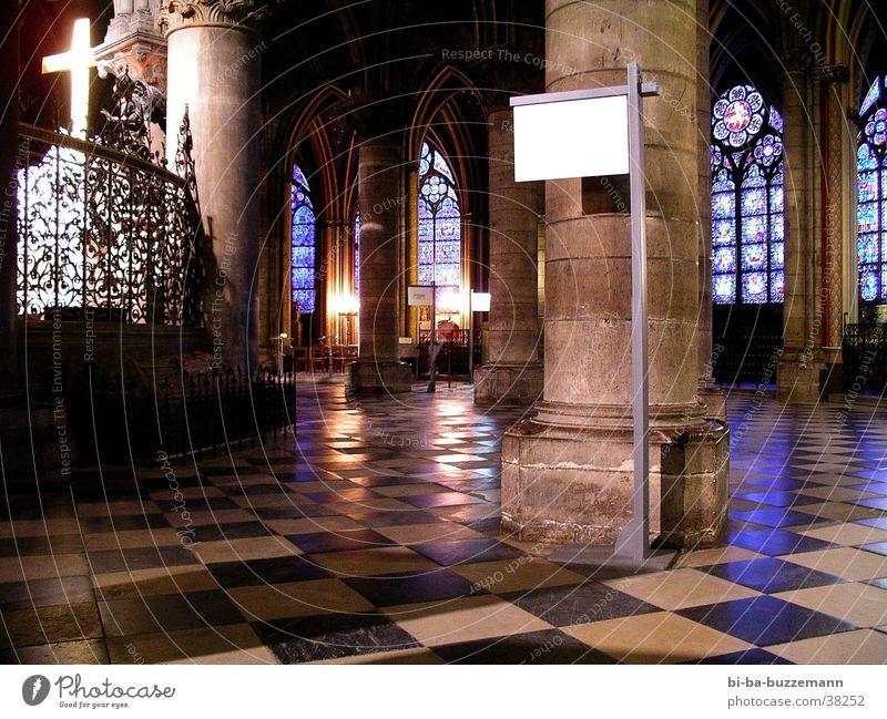 Notre Dame de Paris Fenster Religion & Glaube Freizeit & Hobby Säule Marmor Kirchenfenster Notre-Dame