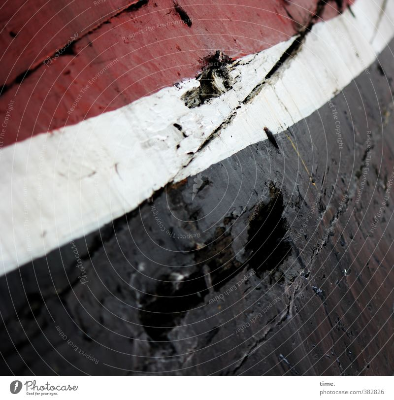 abgeheuert weiß rot schwarz Tod authentisch Armut Perspektive kaputt Vergänglichkeit Wandel & Veränderung einzigartig historisch Vergangenheit Verfall