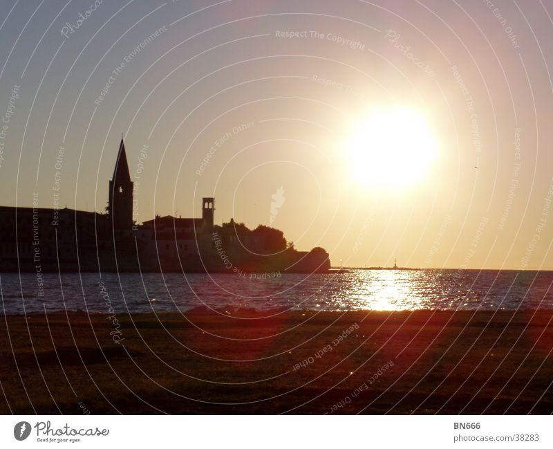 Küste Sonne Meer Religion & Glaube Küste Sommerabend