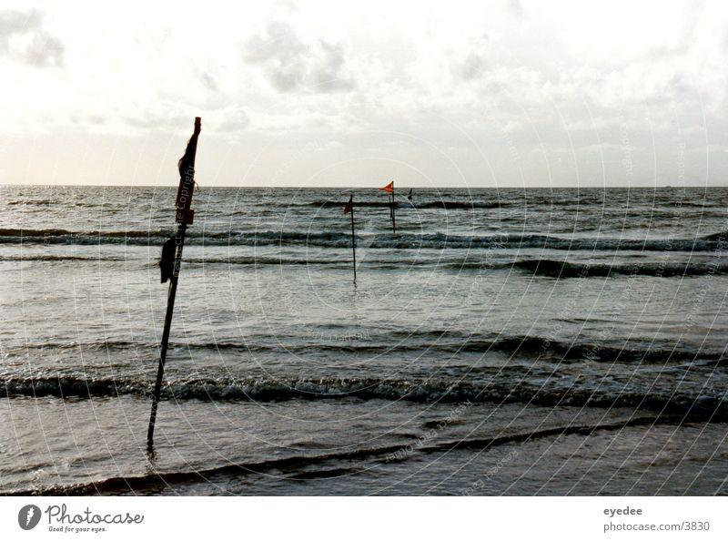 Horizont Meer Strand Wellen Wasser Wind Nordsee