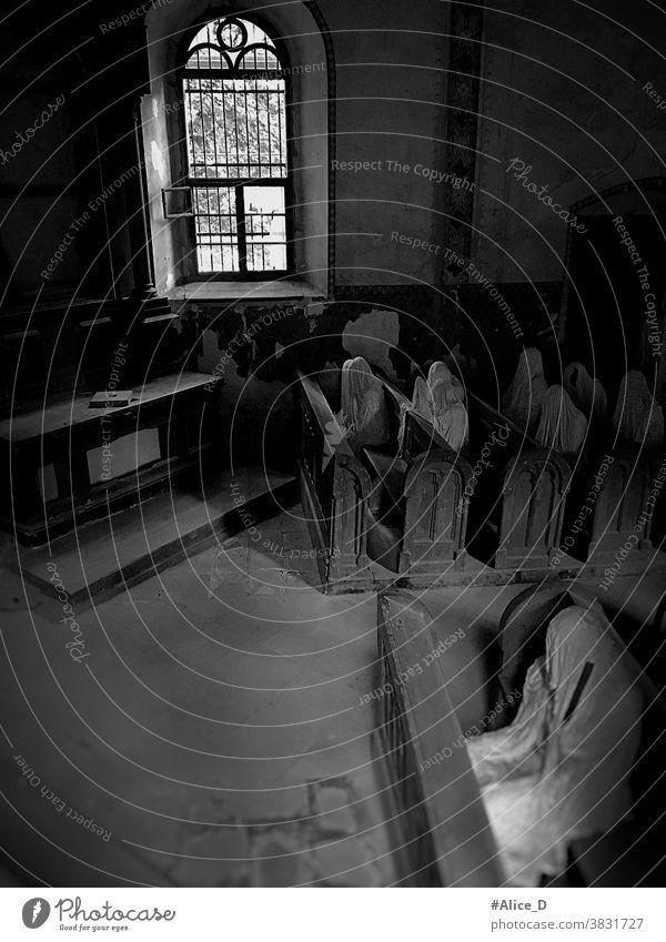 ghost church in lukova Czech Republic artist republic spook spirit sculpture czech empty inside halloween mystery ghostly shadows gray design architecture