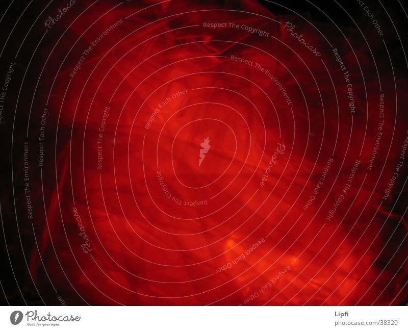 glühende Lava rot obskur Brand Brandasche Makroaufnahme