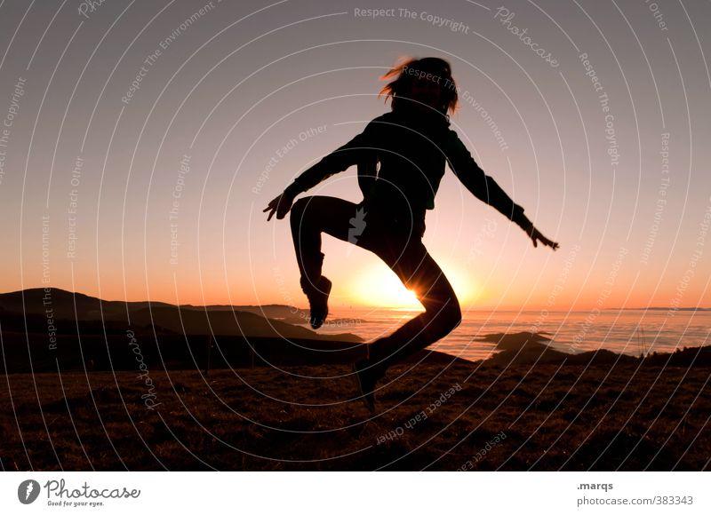 Happy Birthday Photocase! Lifestyle Stil Freude Freizeit & Hobby Ferne Freiheit Mensch feminin Junge Frau Jugendliche Erwachsene Körper Natur Landschaft