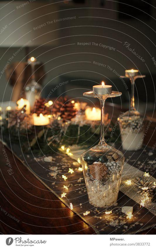 weihnachtsdeko Weihnachtsdekoration Weihnachten & Advent Tischdekoration adventszeit Dekoration & Verzierung Tradition Design Stil Besteck Party Geschirr