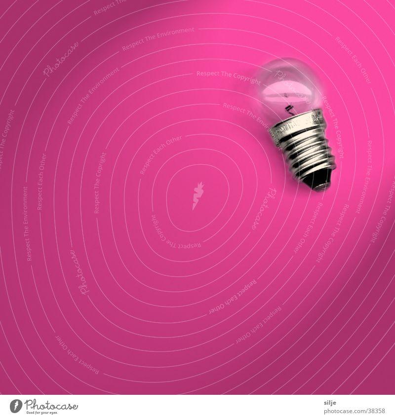 Glühbirnchen pink Häusliches Leben Glühbirne