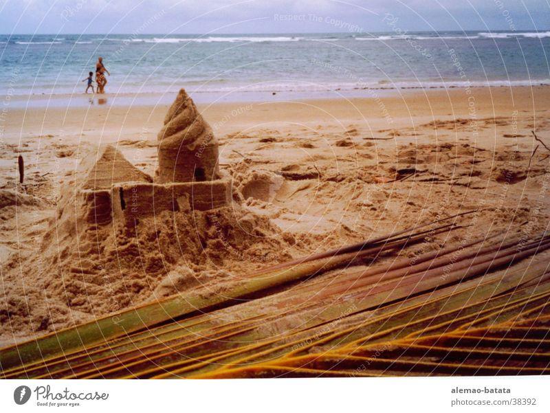 Haus auf/s Sand Strand Burg oder Schloss