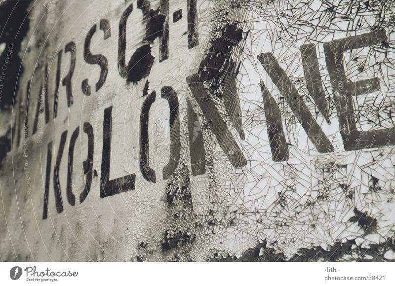 Marschkolonne Schilder & Markierungen Dinge Rost DDR Anleitung