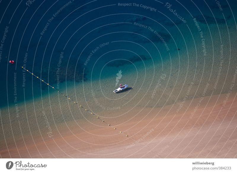 Rettung in Sicht Freizeit & Hobby Ferien & Urlaub & Reisen Tourismus Sommer Sommerurlaub Strand Meer Wassersport Schwimmen & Baden tauchen Schönes Wetter Küste