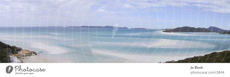 Australien PAnorama Strand Küste Wasser blau