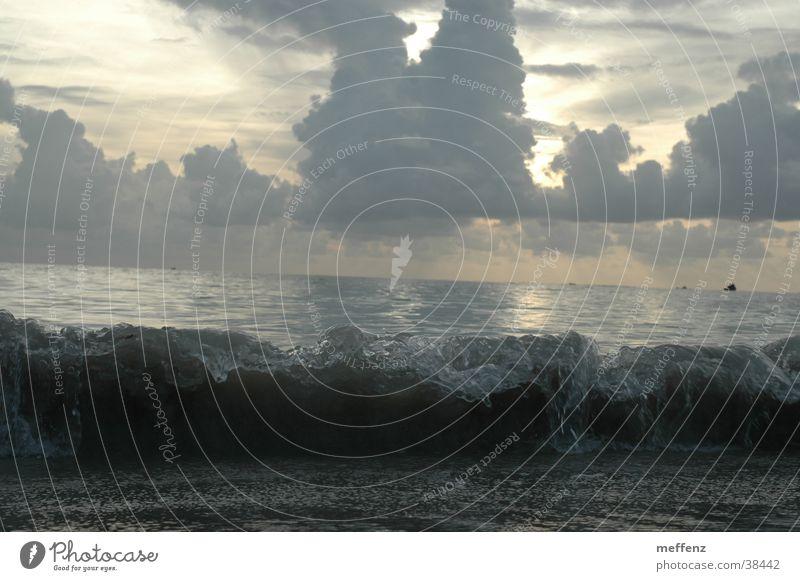 Big Wave Meer Strand Wellen Sturm brechen Gischt