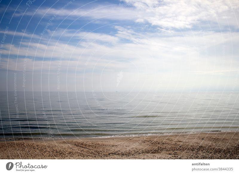 Dezente | Farbkombination | Happy Birthday PC Strand Rügen Ostsee Meer Himmel Sand Sandstrand Ruhe Horizont Ferien & Urlaub & Reisen Küste Ferne