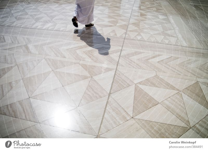 Islam. Muscat Oman Naher und Mittlerer Osten Bauwerk Architektur Sehenswürdigkeit Sultan Qabus Moschee gehen schreiten Religion & Glaube Muster