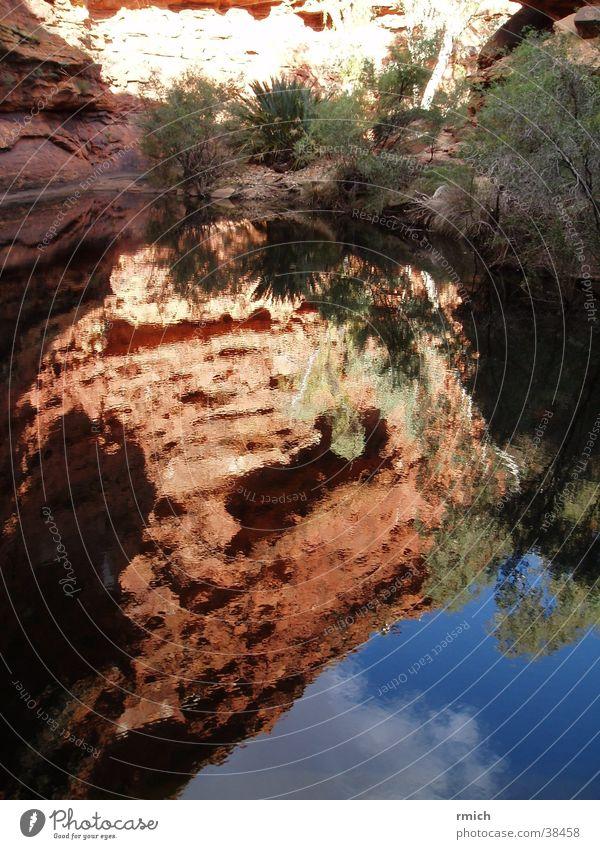 kings canyon Wasser Himmel Berge u. Gebirge Teich Australien