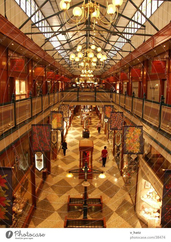 Edel-Shopping-Mall Brisbane Arcade Einkaufszentrum Einkaufscenter Australien Innenaufnahme Architektur