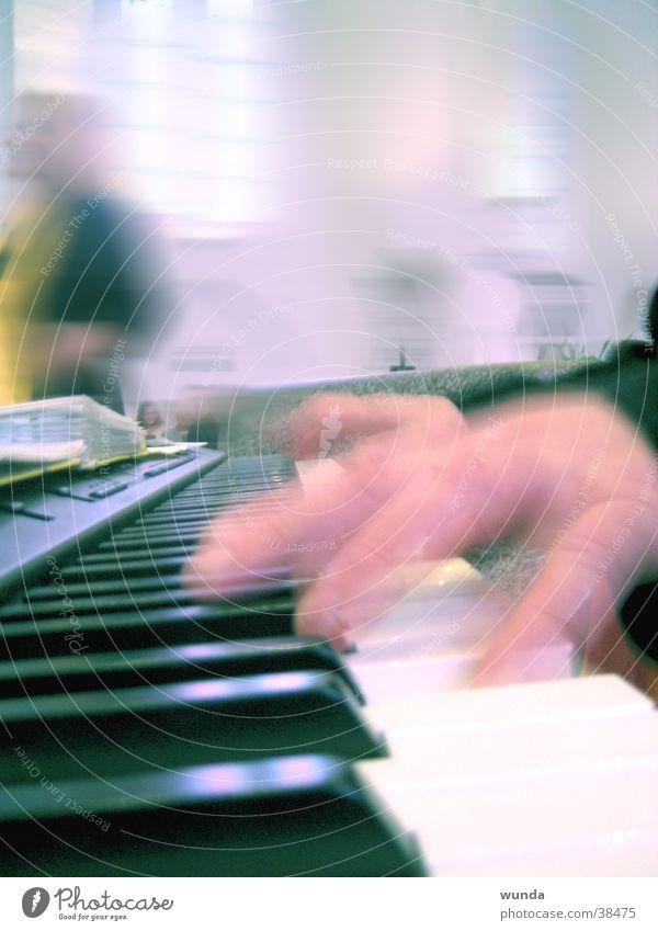Gospel-Piano Mann Musik Klavier